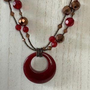 3/$20 Lia Sophia Beaded Necklace